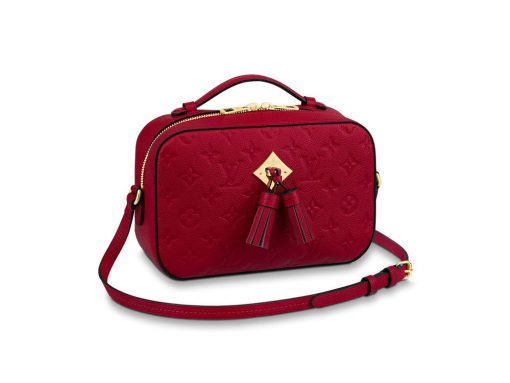 11b2d93177c7 Louis Vuitton s Incredibly Popular Saintogne Bag Now Comes in Monogram  Empreinte