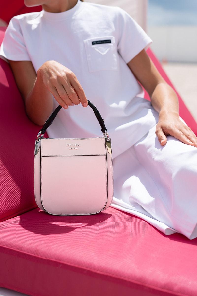 924ca017609f Prada Margit Small in Pink, $1,990 via Prada.com
