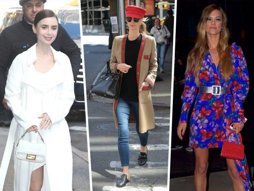Celebs Favor Fendi, Hermès and Chanel This Week
