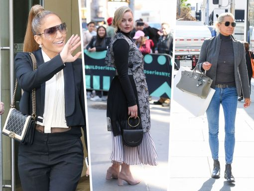 Celebs Promote Their Books, Netflix Shows, Etc. with Bags from Thom Browne and Balenciaga
