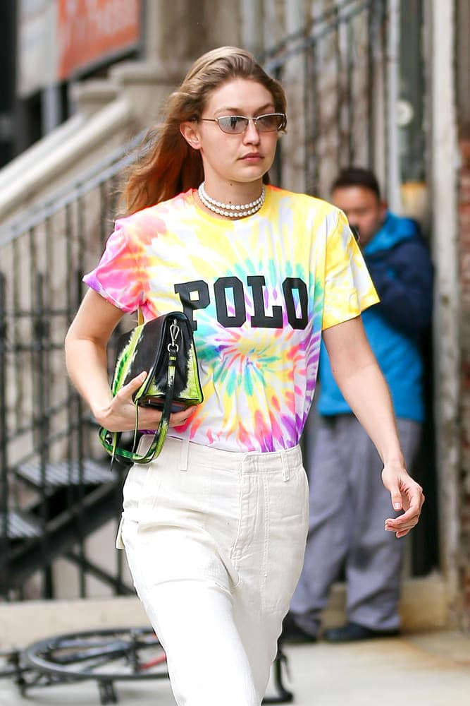 d5000730305677 Tie-Dye Prada and Rainbow Valentino Lead a Colorful Pack of Celeb ...