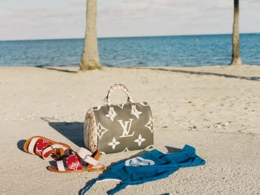 Louis Vuitton's Summer 2019 Capsule Collection Enlarges the Brand's Classic Monogram Print