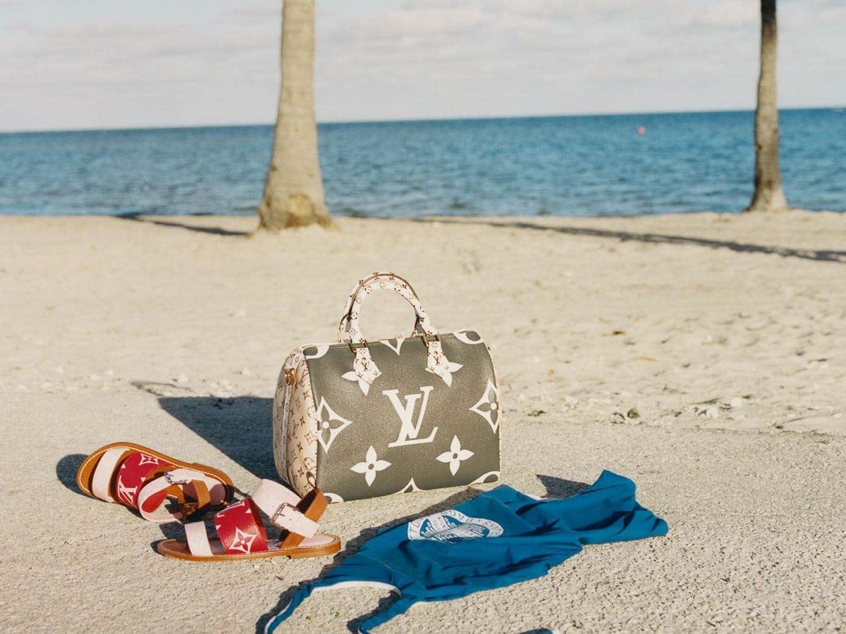 e002d0fa88da Louis Vuitton s Summer 2019 Capsule Collection Enlarges the Brand s Classic  Monogram Print