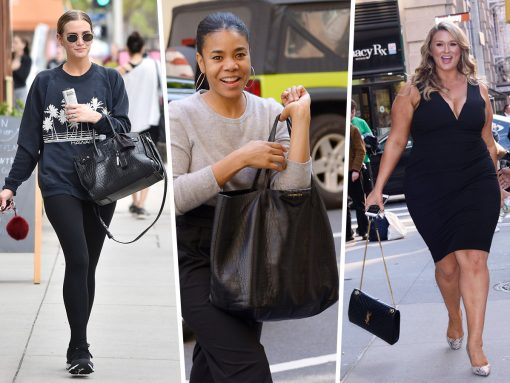 Celebs Get Back to Business with Saint Laurent and Givenchy