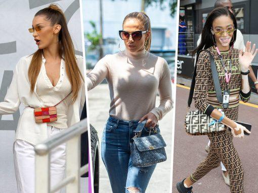 From Monaco to Miami, Celebs Favor Fendi, Chanel and Valentino