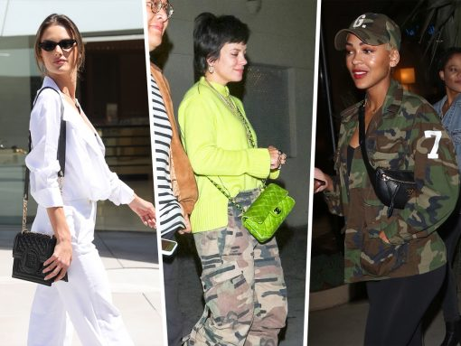 Celebs Party with Bags from Balmain, Chanel and Prada
