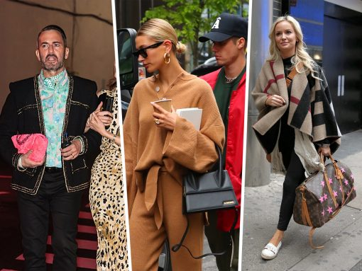 Celebs Get Funky with Furry Pink Chanels and New Givenchy Bags
