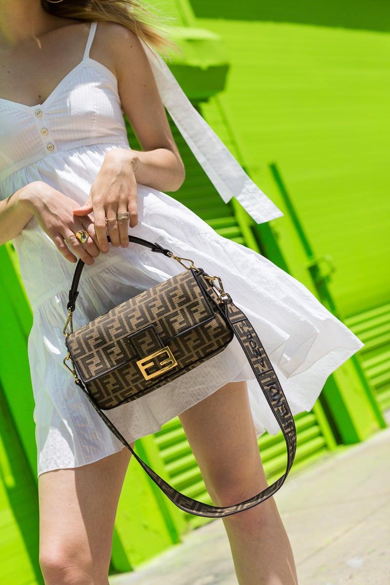 ca3c78da77 A Close Look at the Fendi Roma Amor Baguette Bag - PurseBlog