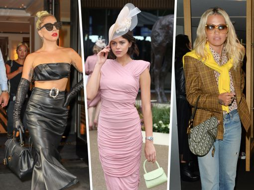 Celebs Go to the Races and Summer Fêtes with Fendi, Chanel and More