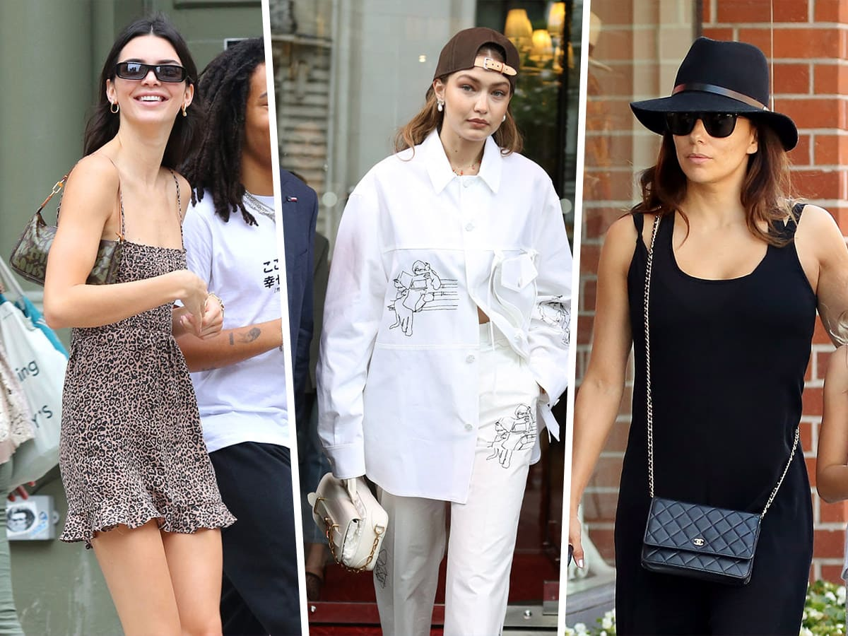 Celebs Take Louis Vuitton and Salvatore Ferragamo Out to Lunch