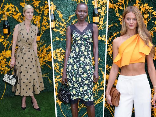 Celebs Swarm the Veuve Cliquot Polo Classic with Bags from Jacquemus, Parisa Wang and Mehry Mu