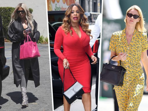 Celebs Try to Dodge the Paps with Hermès, Off-White and Saint Laurent