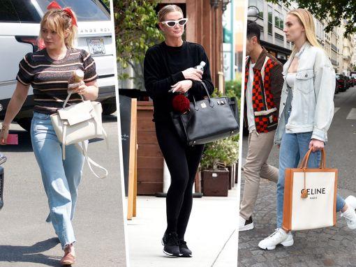 More Celebs Descend on Paris with Dior and Celine