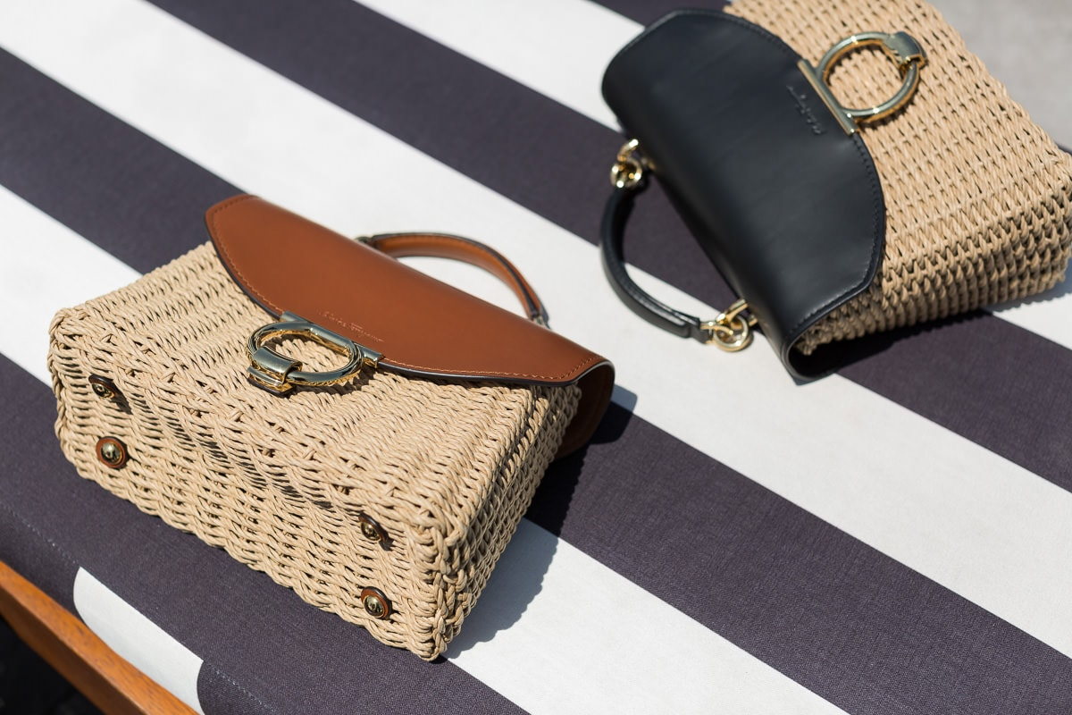 c8adab359b65c2 Additionally, the leather and wicker combo makes these seasonal bags much  more splurge-worthy than some of the other bags of its kind.