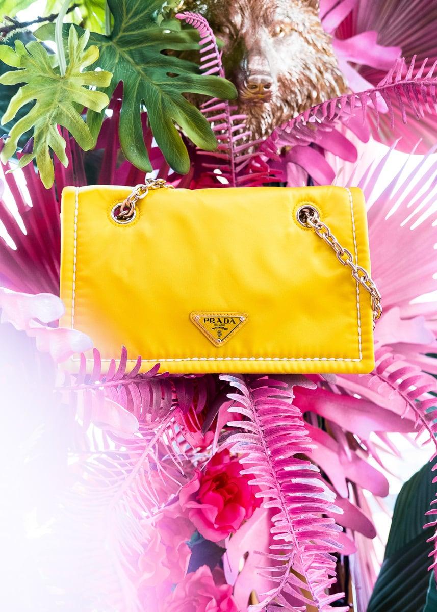 Both Classic and Modern, Introducing the Prada Tessuto Chain Bag