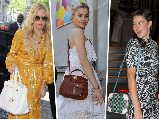 Paris Couture Week Attendees Carry New Valentino, Fendi and More