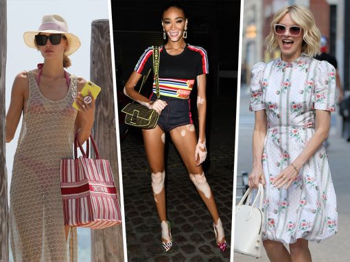 Celebs Dazzle Us with Colorful Ferragamos, Fendis and Diors