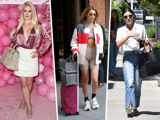 Celebs Hit the Beach and the Streets with Dior and Staud