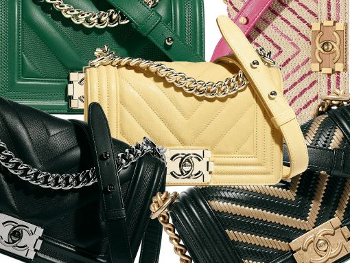 If You Love Chanel Chevron Boy Bags, Here Are Some New Styles