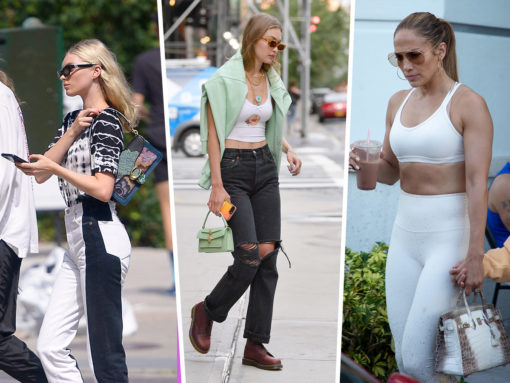 Celebs Look Somber with New Styles from Balenciaga, Coach and Bulgari