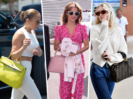 Celebs Make Their Way Around the World with Bags from Fendi and Hermès