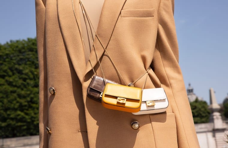 Fendi's Latest Baguette Bag Proves Micro Bags Aren't Going Anywhere