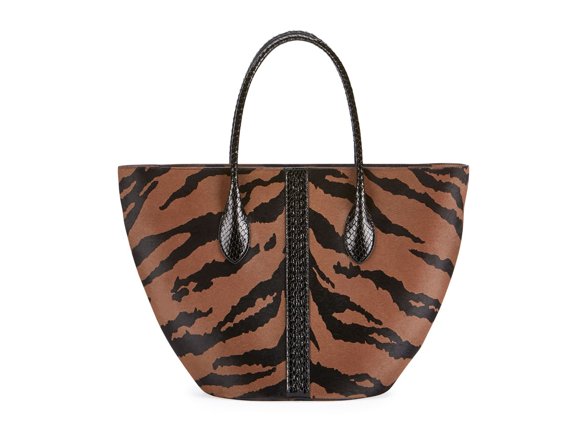 Love It or Leave It? Alaïa Latifa Tiger-Print Tote