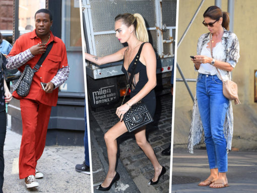 Celebs School Us with New Bags from Balmain, Paco Rabanne and MZ Wallace
