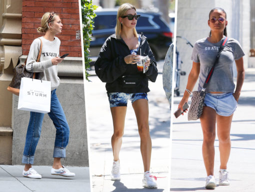 Celebs Take a Brief Respite from Fashion Weeks with Bags from Balenciaga, Louis Vuitton