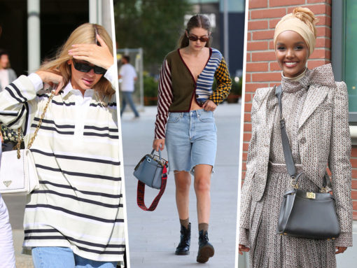 Models and Influencers Carry Fendi and Prada at Milan Fashion Week