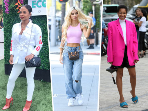 Louis Vuitton Gets All the Love From Fashion Week Celebs This Time