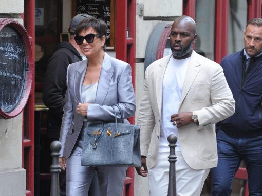 Kris Jenner Kicks Off Paris Fashion Week With Some Impressive Hermès Bags