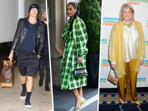Celebs Don New Balenciaga, Gucci and Louis Vuitton Bags