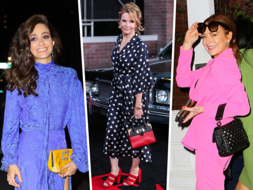 Celebs Dazzle Us with Prada, Valentino and Roger Vivier