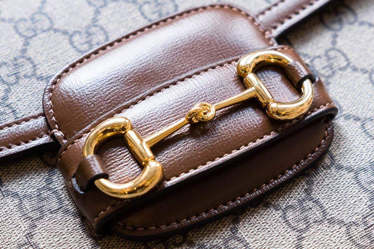 A Closer Look At the Gucci 1955 Horsebit Shoulder Bag