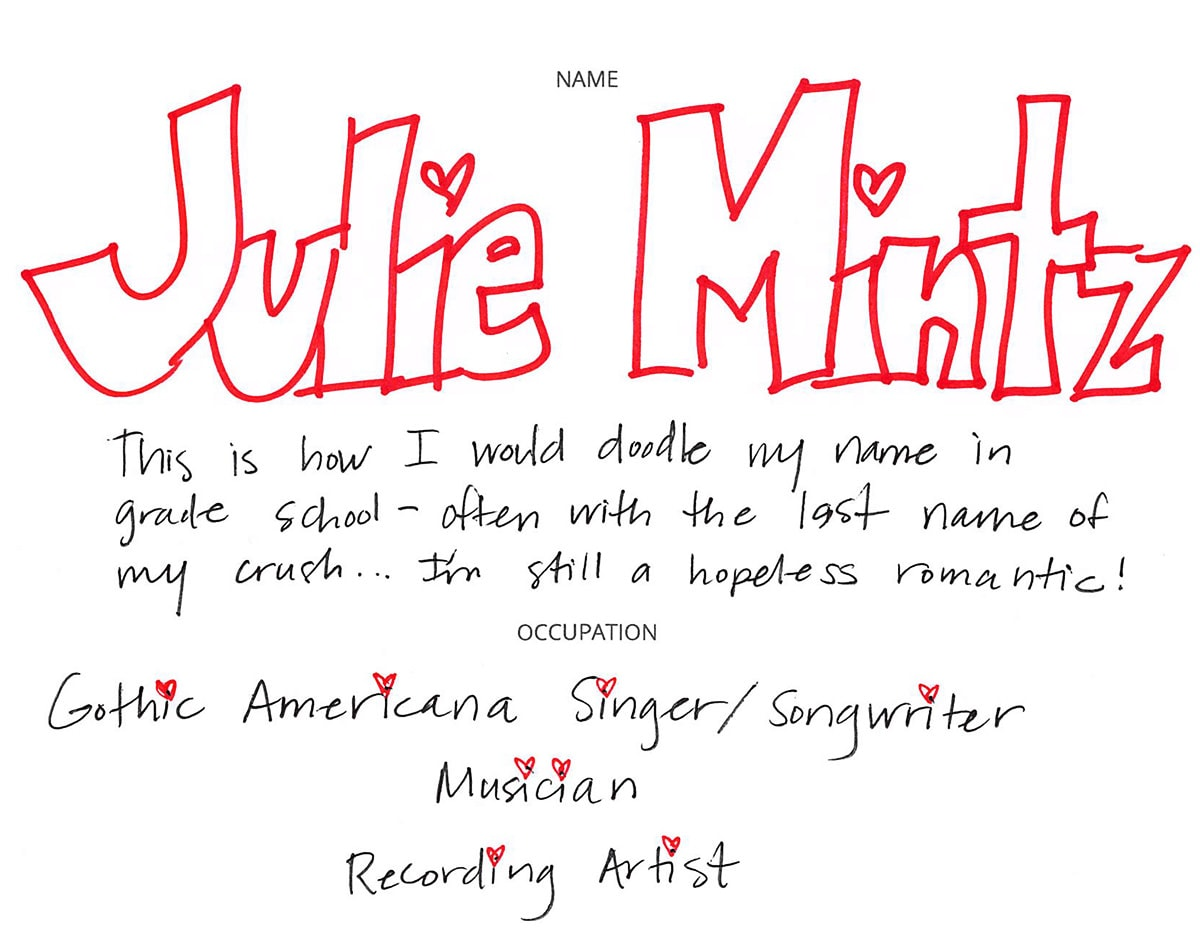 What's In Her Bag: Singer/Songwriter Julie Mintz