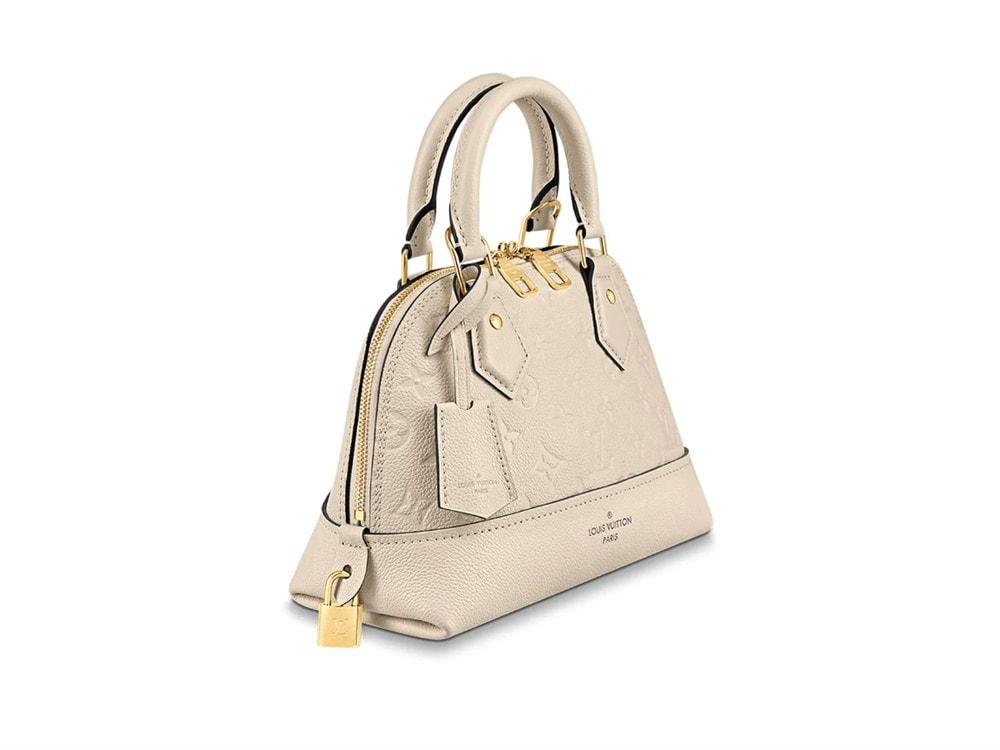 Introducing The Louis Vuitton Neo Alma In Monogram Empreinte Purseblog
