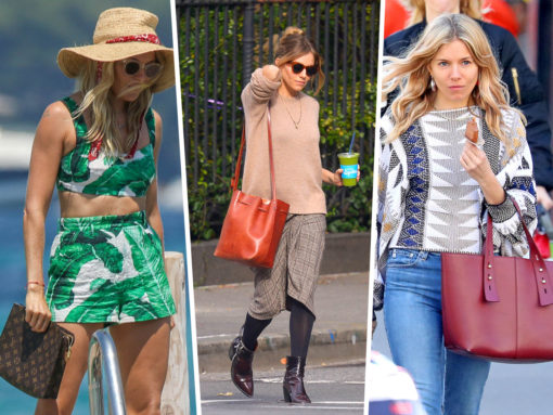 The Many Bags of Sienna Miller