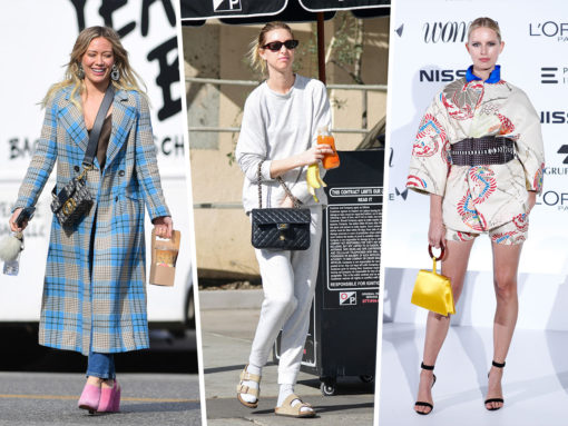 Celebs Are Out and About with Gucci, Chanel and Balenciaga