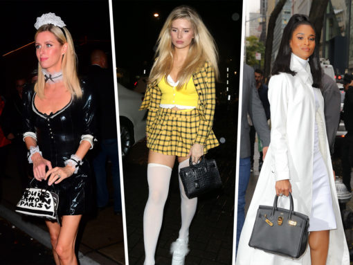 Celebs Flaunt New Bags from Balenciaga, Jimmy Choo and Valentino