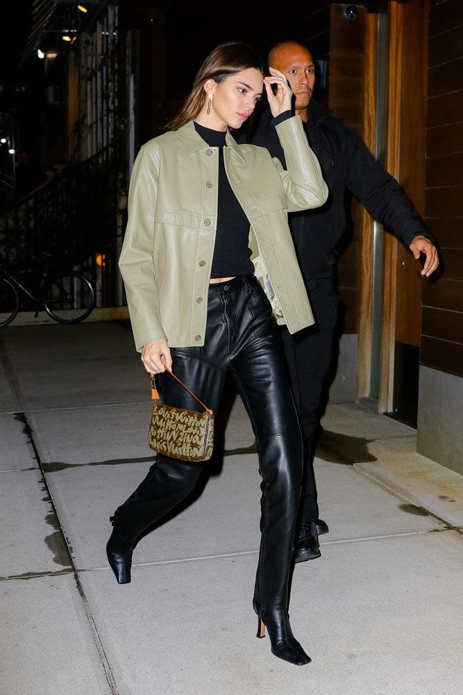 Kendall Jenner Joins Our Parade of Pochette Nostalgia