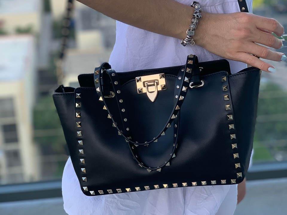 Purseonals The Valentino Rockstud Bag