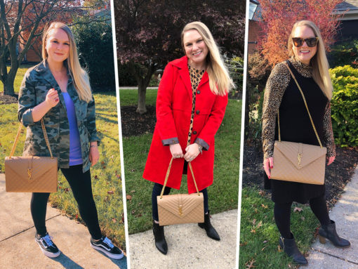 One Bag, Three Ways! How I Styled My Saint Laurent Envelope Bag