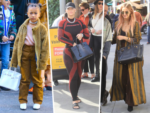 Celebs of All Ages Opt for Birkins, Saint Laurent and Fendi