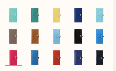 The Many Colors of the Bearn Wallet