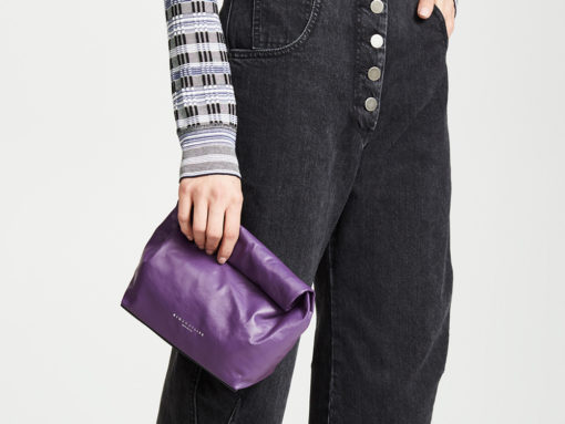 Lunch Bag Style Clutches Are a Apparently a Thing