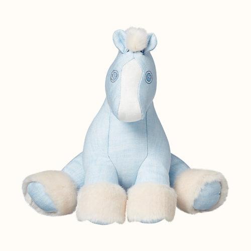 Baby Hermy Plush in Blue