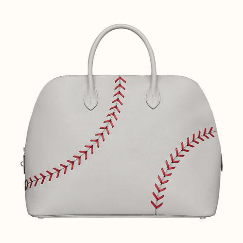 Bolide 1923 45cm Baseball Bag in White