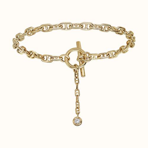 Chaine d'Ancre Enchainee Bracelet, Single