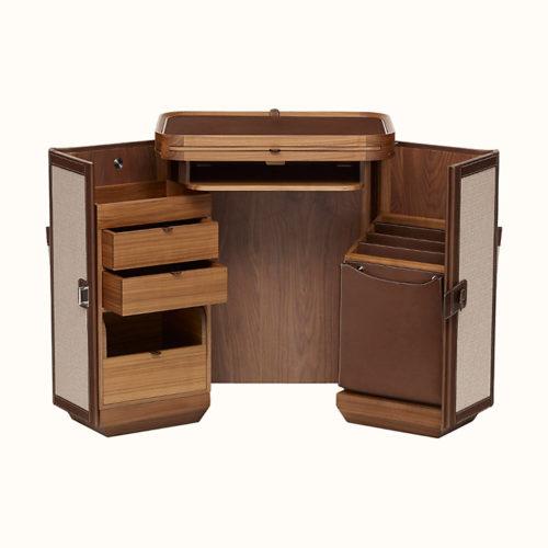 Les Nécessaires d'Hermès Folding Desk, Open View